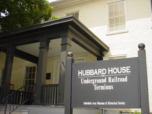 Lake Erie Coastal Ohio Trail - Hubbard House Underground Railroad Terminus