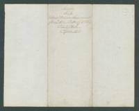 Ordnance return receipt for Lieut. Amos D. Allen, 13th Michigan Infantry