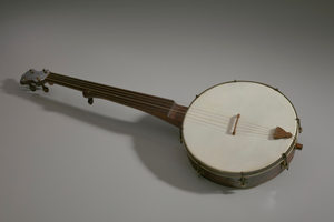 Banjo made in the style of William Esperance Boucher, Jr