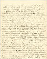 Bill of sale from William Lee to George R. Gaither for Negro slave named Robert, dated December 21, 1844