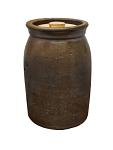 Hiram Wilson Stoneware Pottery Jar