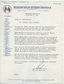 Letter from Bob to Whom It May Concern