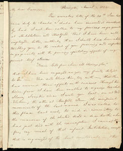 Letter from Charles Wheeler Denison, Stonington, [Conn.], to William Lloyd Garrison, March 7, 1834