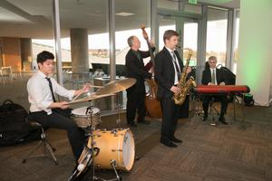 [Jazz Band at 2014 Salute to Faculty Excellence event] 3598: UNT Faculty Excellence Awards, 2014