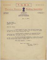 Letter: Nashville, Tennessee to Ben Stein, Macon, Georgia, 1927 Nov. 9