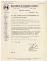 Letter from Bob to Officers and Members