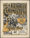 """At a Georgia Camp Meeting"" Sheet Music"
