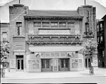 Lichtman Theater [front, exterior of Booker T Theatre] [acetate film photonegative, ca. 1940]