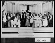 [Photograph of talent show participants, Millen, Jenkins County, Georgia, between 1920 and 1930]