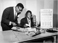 WBGE radio personality Roosevelt Johnson