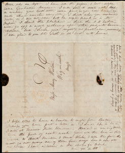 Letter from Anne Warren Weston, New Bedford, [Mass.], to Mary Weston, October 29, 1842