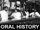 Abram, Pastor Renzie and Members of the Congregation audio oral history and transcript