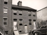 West side of the 800 block of Ensor Street, Baltimore