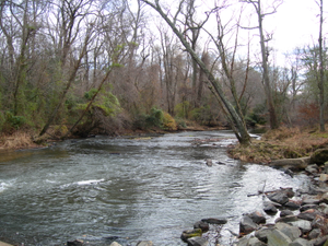 Harriet Tubman Underground Railroad Byway - Pooled Water at the Greensboro Crossing