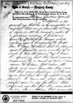 Affidavit of William Outlaw: Albany, Georgia, 1868 Sept. 23