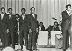 The Temptations on campus