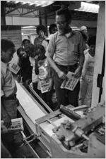 J. Lowell Ware at the Atlanta Voice, circa 1973