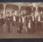 Gay Minstrel Troupe 1887