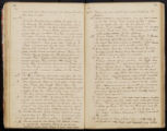 Emily Ann Powell Warrington's annotated diary 1846-1862 pages 090 and 091