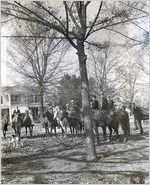 Fox Hunt at T. W. Hardy Home