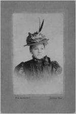 Fannie McComb, circa 1900