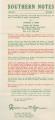 """""""Southern Notes"""" Vol. 1, No. 4"""