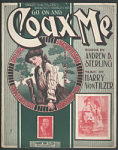 """""""Go On and Coax Me"""" Sheet Music"""