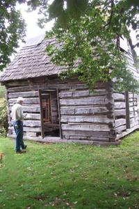 Harriet Tubman Underground Railroad Byway - Entering James Webb's Cabin
