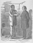 Rev. Mr. Wilson and his captured slave