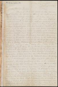 Letter from Samuel May, Leicester, Mass., to Richard Davis Webb, Jan. 25, 1967