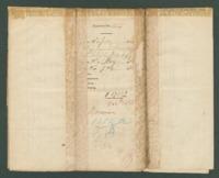 Voucher to Maj. James D. Hinckley, 18th Michigan Infantry