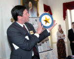 Governor Robert Ehrlich at Harriet Tubman Underground Railroad Map event