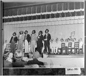"[Photograph of the Methodist Men's Choir, the ""Sugar Foot Minstrels,"" Winder, Barrow County, Georgia, 1947 Apr. 18]"