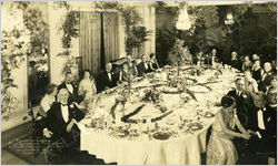 Dinner for May Patterson and James Goodrum