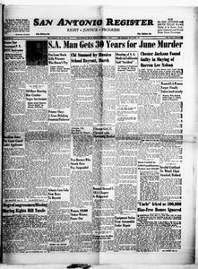 San Antonio Register (San Antonio, Tex.), Vol. 33, No. 35, Ed. 1 Friday, November 1, 1963 San Antonio Register