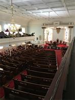 First African Baptist Church-interior