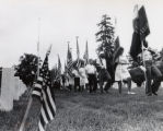 Memorial Day ceremonies at Baltimore National Cemetery