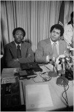 Maynard Jackson and Reginald Eaves, circa 1975