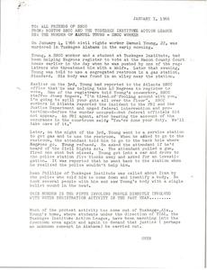 Murder of Samuel Young, S.N.C.C. worker
