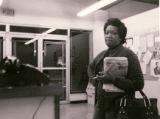 Photograph of Dorothy King at EOB center, circa 1965