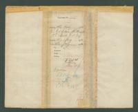 Voucher to Lt. Col. Edwin M. Hulburd, 18th Michigan Infantry