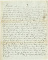 Bill of sale with manumission from Isaac C. Anderson to Jonathan Marriott for Negro slave named Sam, dated June 5, 1849