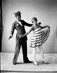 Stump [or Stumpy? Stumpie?] and Stello (dancing) [acetate (or nitrate?) film photonegative, 1930s]