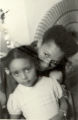 Portrait of Katherine Dunham with Marie-Christine Dunham Pratt