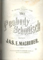 The peabody schottisch