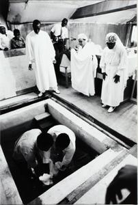 """Entering the """"liquid grave"""""""