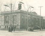 Quincy branch library, Cleveland,Ohio: exterior, 1937