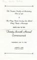 Commencement Program Front (1948)