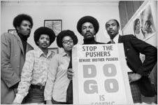 Arthur Langford and staff, circa 1972