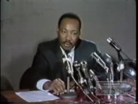 KING TALKS ABOUT THE 1968 PRESIDENTIAL ELECTION AND THE DOCTRINE OF NONVIOLENCE IN PROTEST